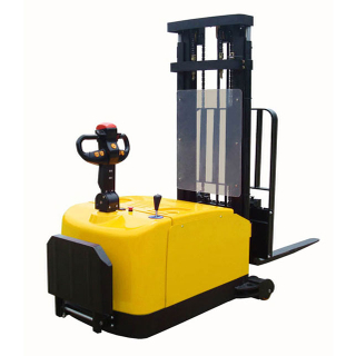 ELES-12C/ELES-12CF FREE MAINTAINED BATTERY 1.2T COUNTERBALANCED ELECTRIC STACKER STAND ON TYPE