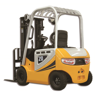 FB20E 2 TON 4 WHEEL ELECTRIC FORKLIFT TRUCK