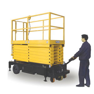 SJY0.5-6 SJY0.5-7.5 SJY0.5-9 SJY0.5-11 SJY0.5-12 Scissor Type Elevating Platform with Pulling Device